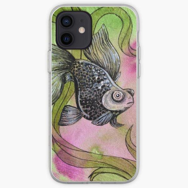 Moorfish on Green iPhone Soft Case