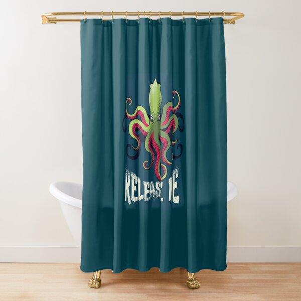 The Kracken Shower Curtain