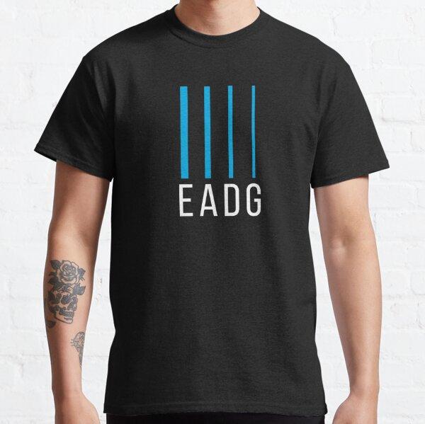 Bass Guitarist Gift - EADG 4 String Classic T-Shirt