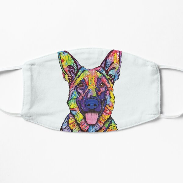 German Shepherd Mask Color Dog Lovers Father Day Gift Mask