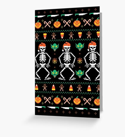 Trick or Christmas Greeting Card