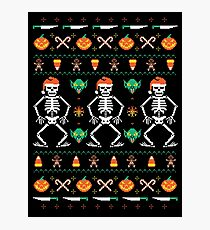 Trick or Christmas Photographic Print
