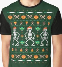 Trick or Christmas Graphic T-Shirt