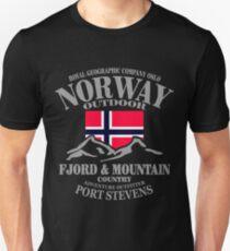 Norway - Fjord & Mountain T-Shirt