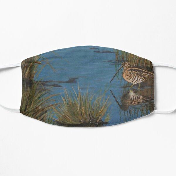 Snipe at Frampton Marsh Flat Mask
