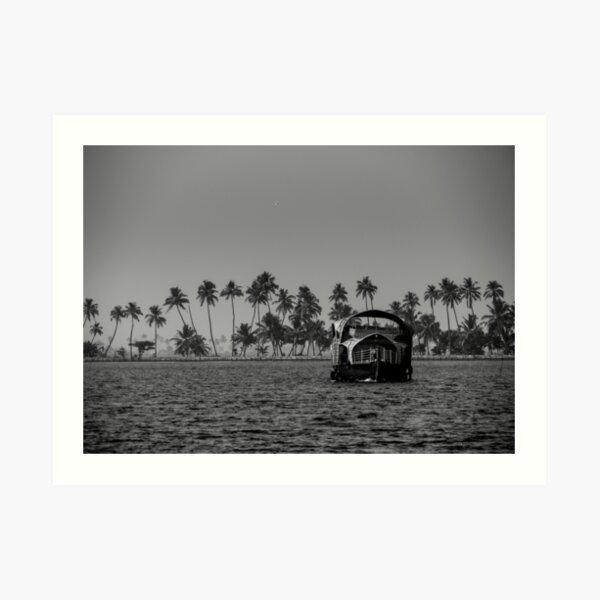 backwaters five Art Print