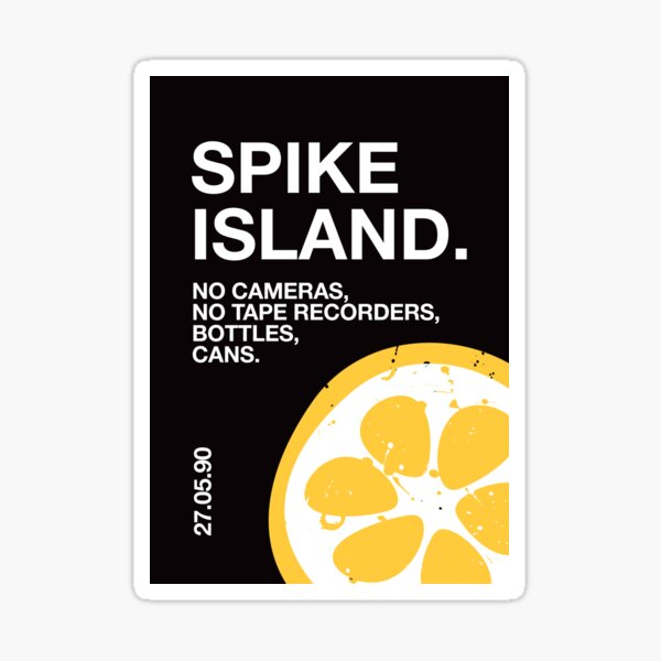 Spike Island Sticker