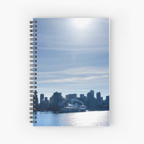 vancouver  Spiral Notebook