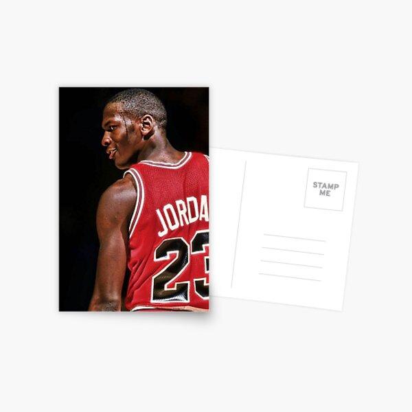 Michael Jordan Postcards Redbubble