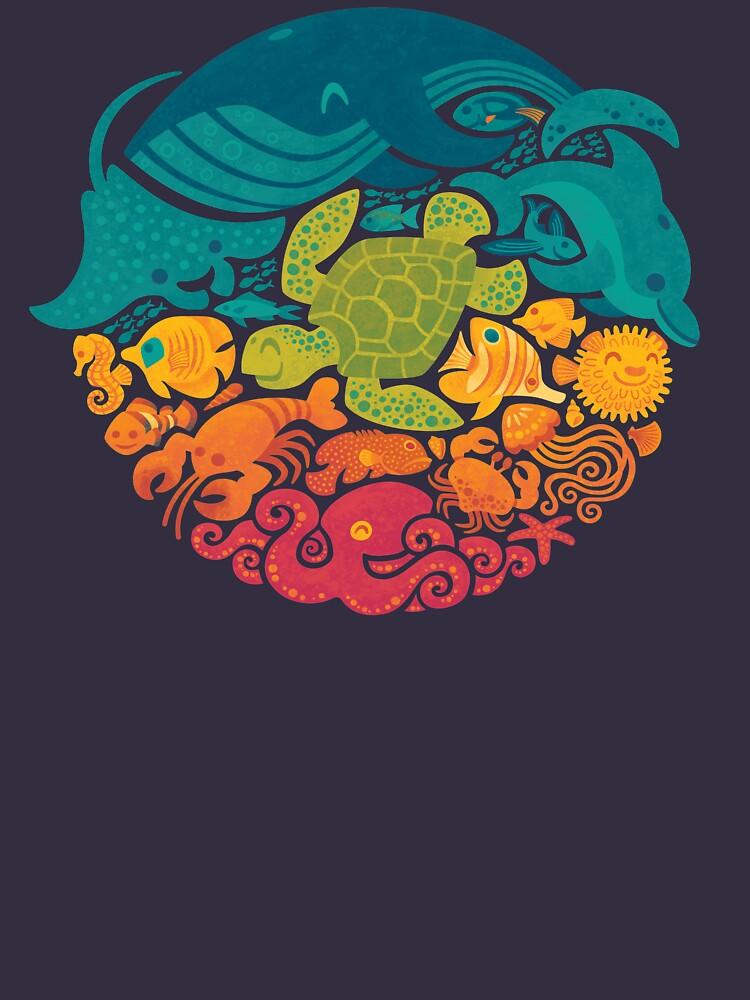 Aquatic Rainbow by Waynem79