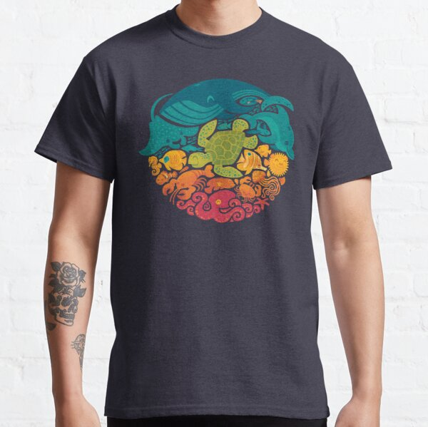 Aquatic Rainbow Classic T-Shirt