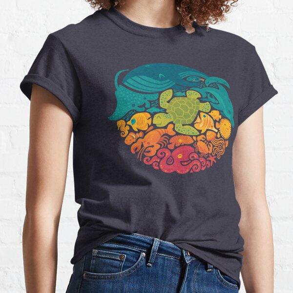 Aquatic Rainbow Classic T-Shirt