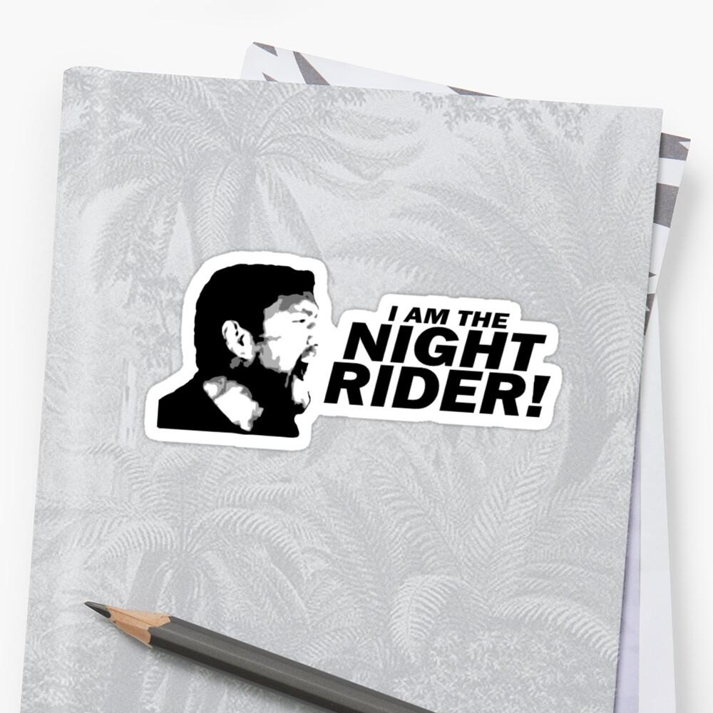 "I Am A Rider Djpunjab: I Am The Night Rider"" Stickers By ODN Apparel"
