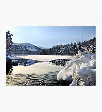 Loch an Eilien, Aviemore Photographic Print