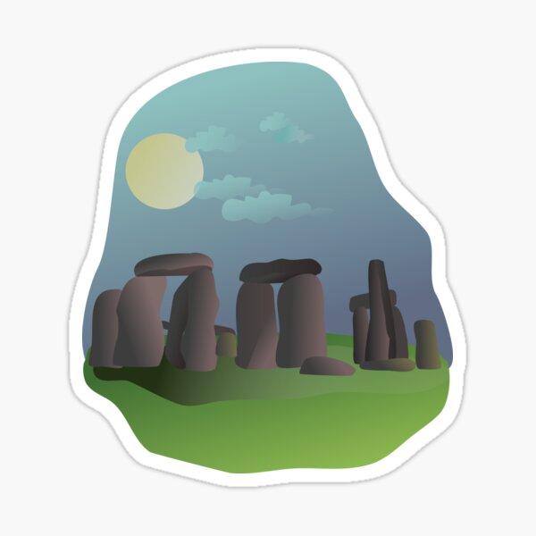 Stonehenge standing stones Sticker