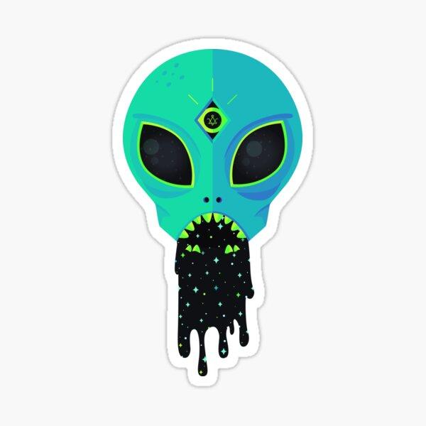 Alien Flu Sticker