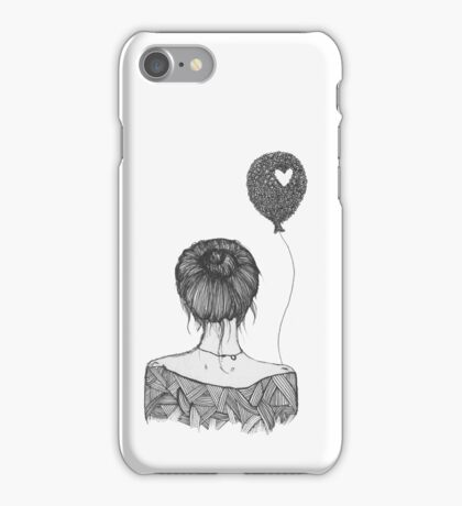 Girl with a Balloon iPhone Case/Skin