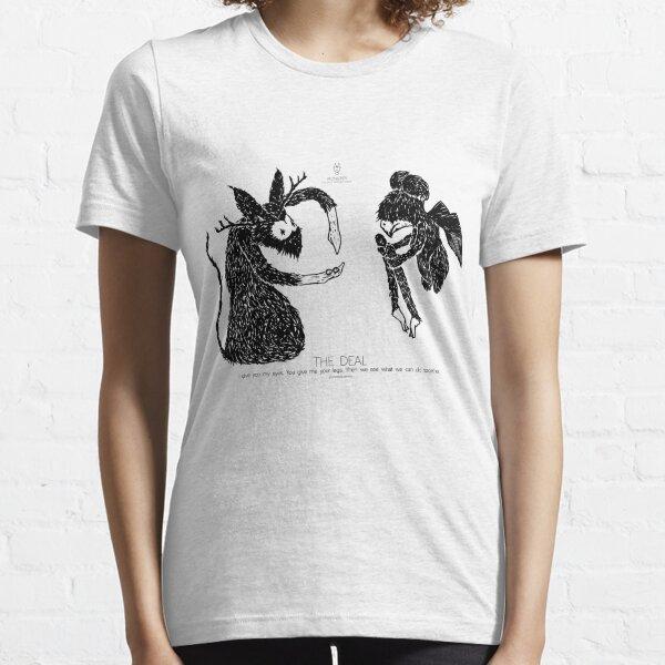 """zu zeigen + """"MONSTRE"""" Essential T-Shirt"""