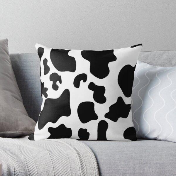 Y2k cow print Throw Pillow