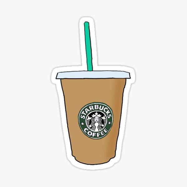 Pegatina Starbucks Pegatina