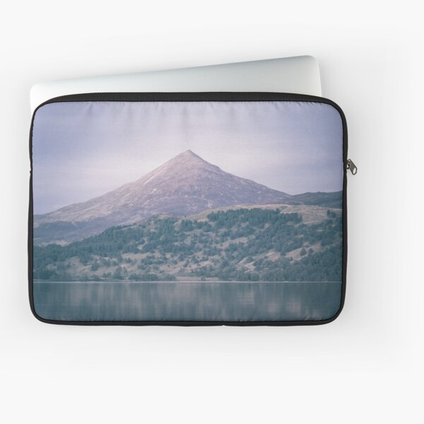 The Attraction Of Mountains by Cat Burton Laptop Sleeve
