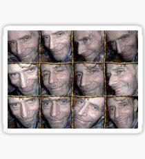 Barbwire Smiles Sticker