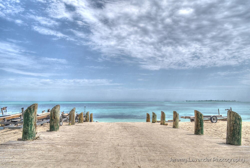 Good Man's Bay Beach in Nassau, The Bahamas by Jeremy Lavender Photography