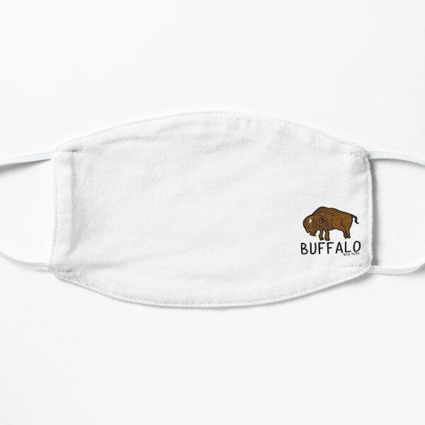 Buffalo, New York Bison Logo Flat Mask