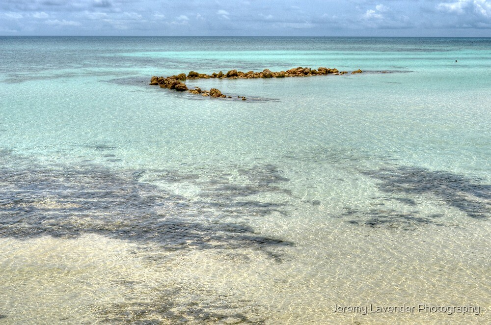 Low tides at Yamacraw Beach in Nassau, The Bahamas by Jeremy Lavender Photography