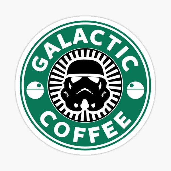I like my coffee dark. Sticker
