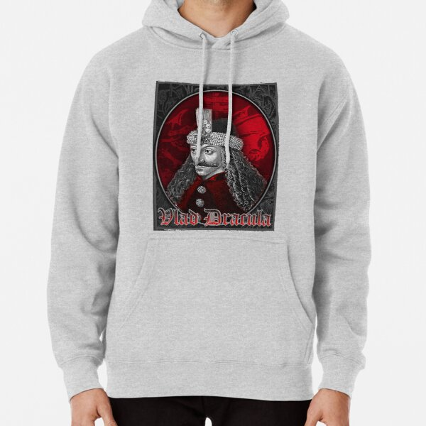 Vlad Dracula Gothic Pullover Hoodie