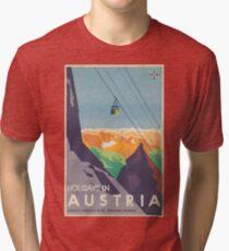 Weinleseplakat - Österreich Vintage T-Shirt