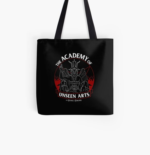 The Academy of Unseen Arts All Over Print Tote Bag