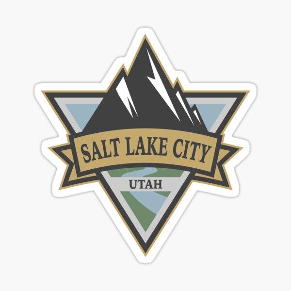 Salt Lake City, Utah Sticker