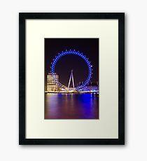 Eye on the Thames Framed Print