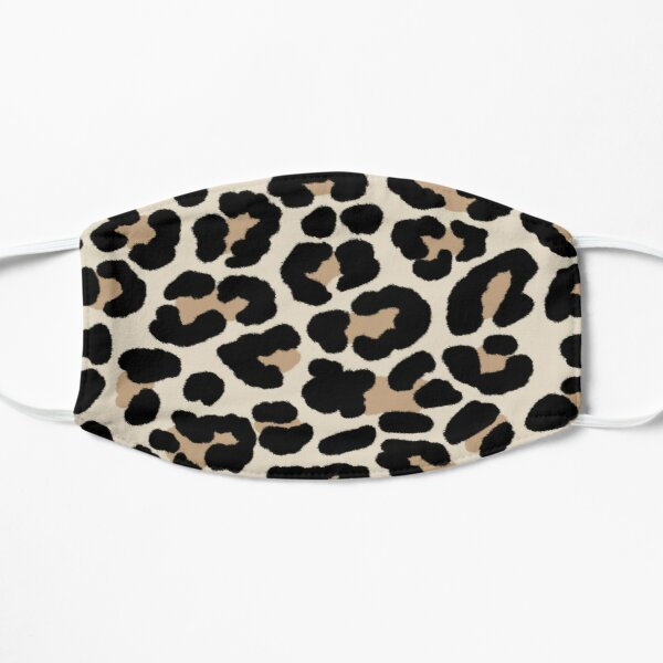 Cheetah Print Flat Mask