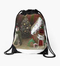 holiday sence Drawstring Bag