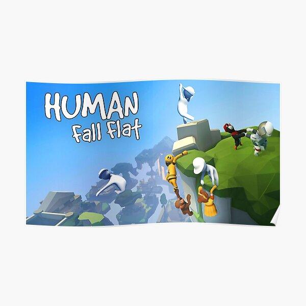 Human Fall Flat Póster