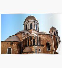 The The Agia Triada Monastery Poster