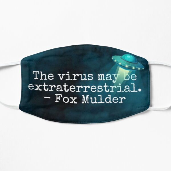 The virus may be extraterrestrial - Fox Mulder Mask