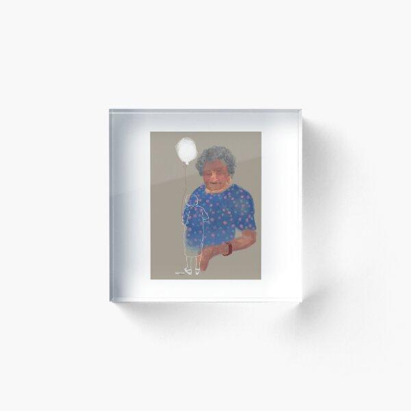 Grandma... Acrylic Block