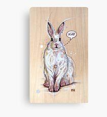 Snow bunny 2 Canvas Print