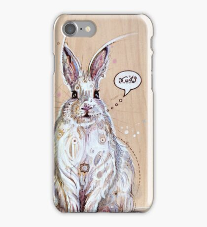Snow bunny 2 iPhone Case/Skin