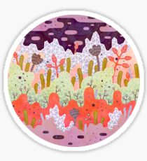 Crystal Forest Sticker