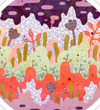 Crystal Forest Sticker