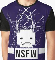 NSFW ROBOT Graphic T-Shirt