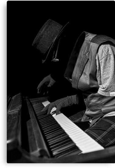 Invisible Piano Man by Randy Turnbow