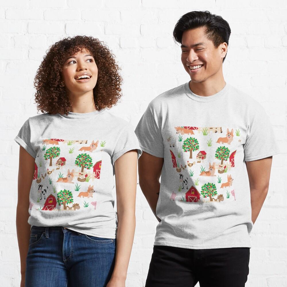 corgis on the village Classic T-Shirt