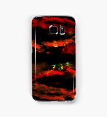 digital sky. texture. Samsung Galaxy Case/Skin