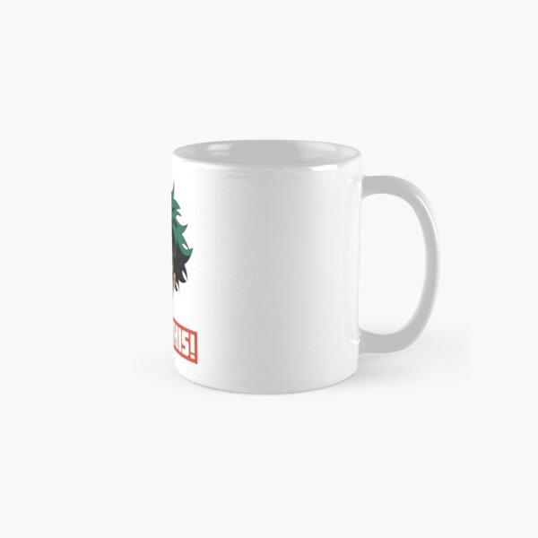 My Hero Academia Drink this! (Eat this!) Deku All Might Mug Design   My Hero Academia   HD Classic Mug